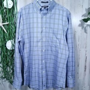 Nordstrom~ Blue Long Sleeve Button Down Shirt